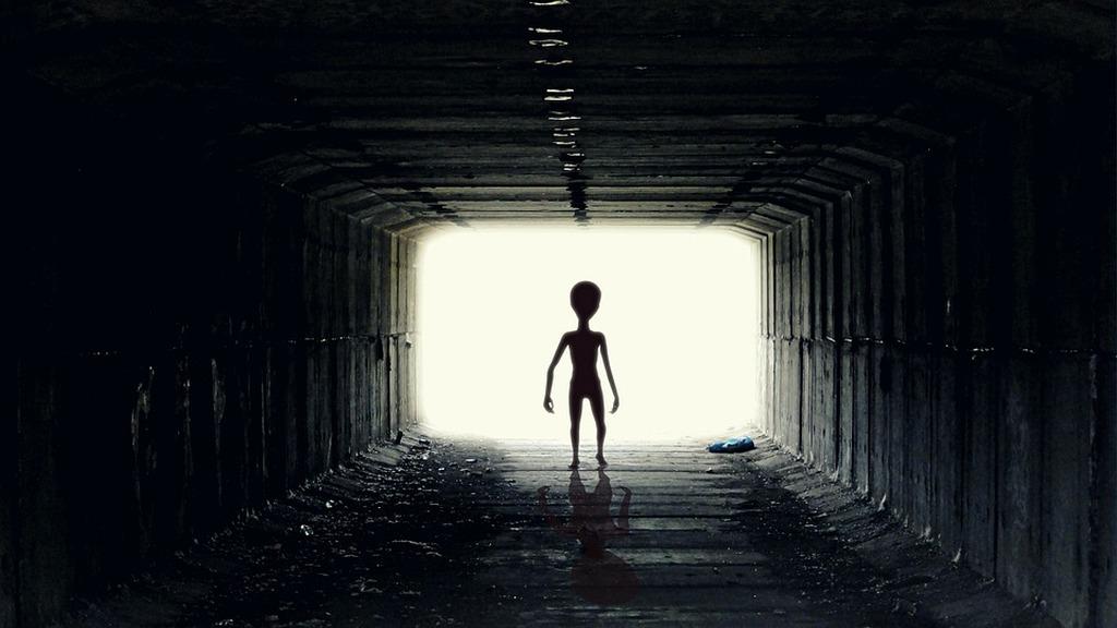Alien-Tunnel