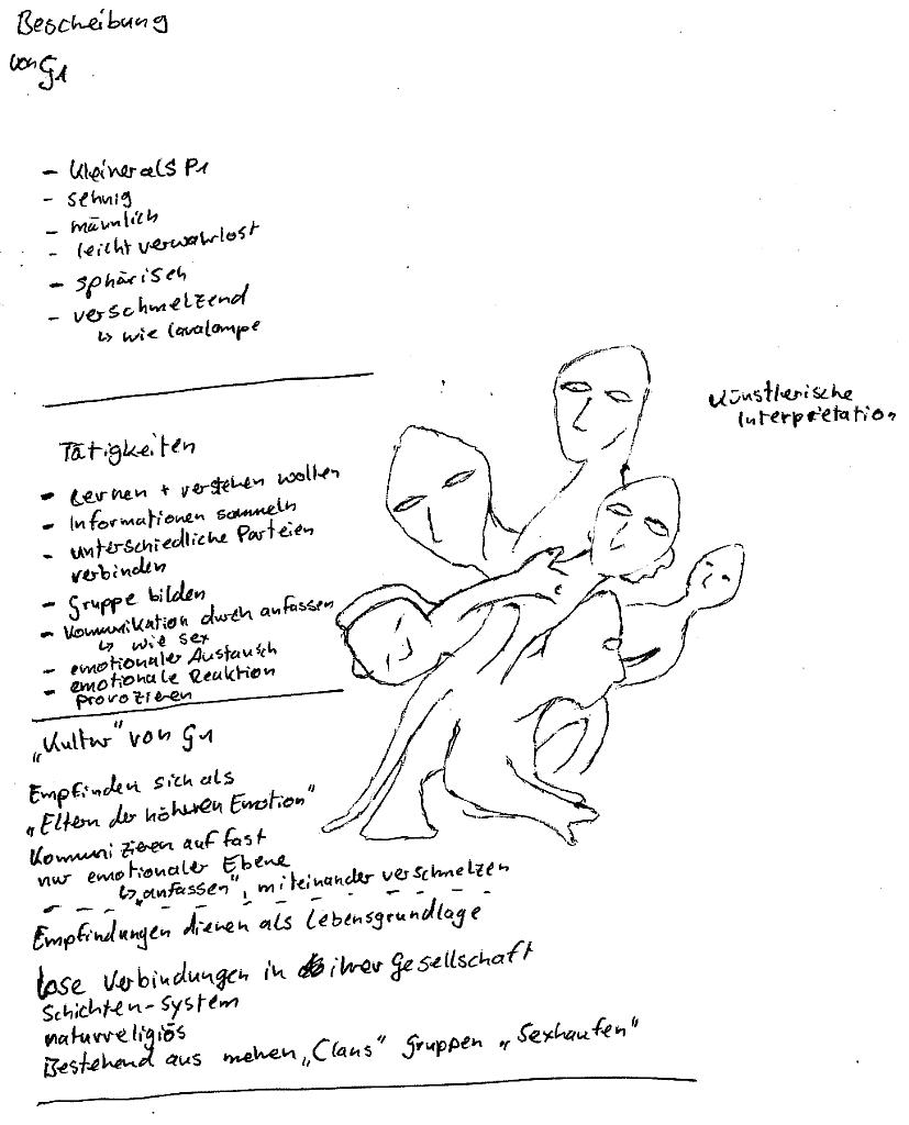 Entführungsprojekt - Frau J. (Zusammenfassung) - Wesen