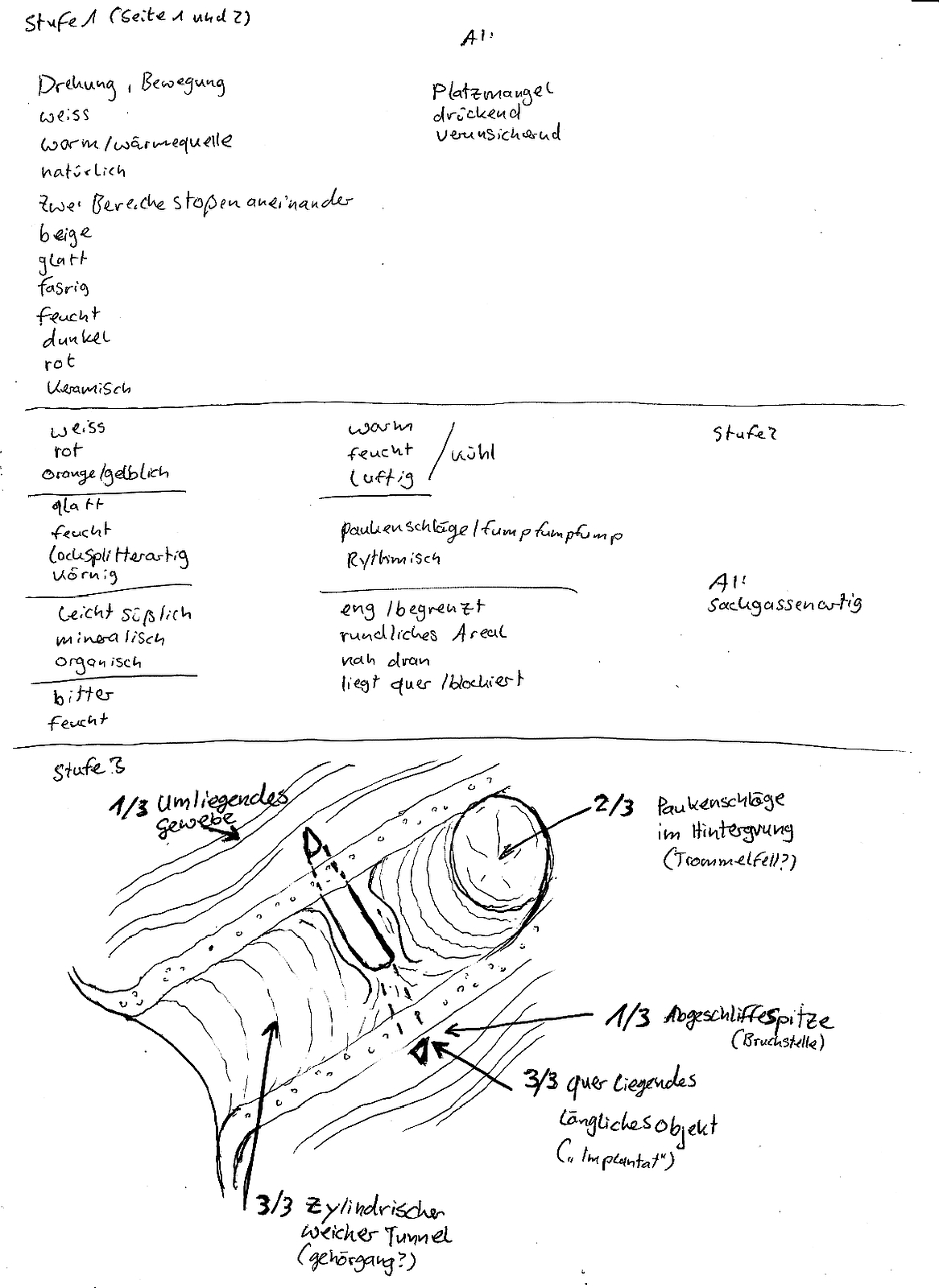 Entführungsprojekt - Herr S. (Zusammenfassung) S1-3