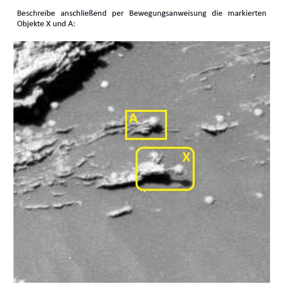 Leben auf dem Mars? (Target-Zoom)